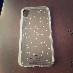 Kate spade iPhone X phone cover